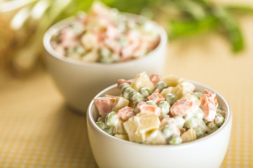 Rus Salatası Tarifi 2