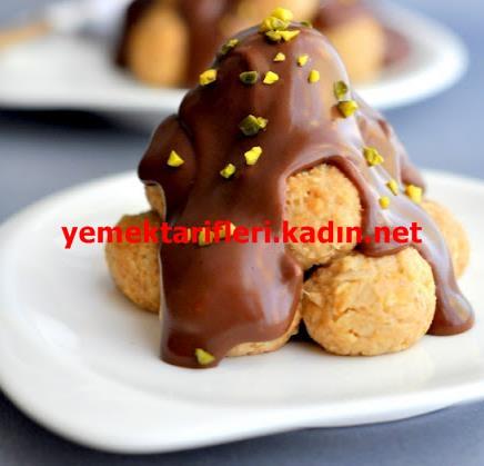 Elmalı Bisküvili Toplar Tarifi