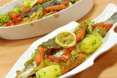 Sebzeli Balık Pilaki Tarifi