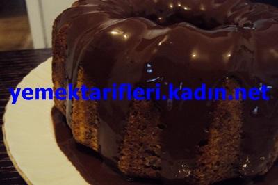 kahve soslu çikolatalı kek