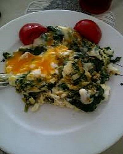 ıspanaklı yumurta