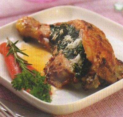 Karalahanalı Tavuk Dolma