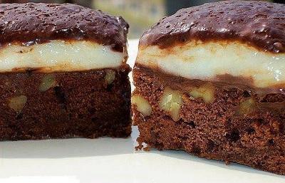 Kremalı Brownie Tarifi
