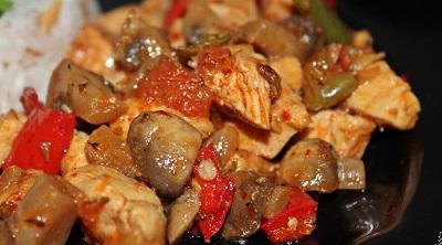 Mantarlı Tavuk Tarifi