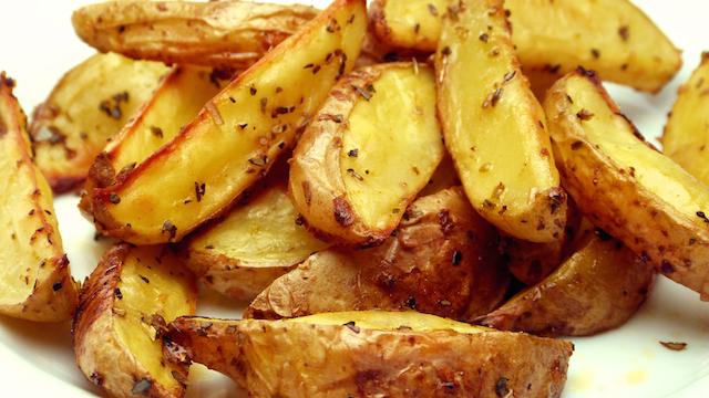 Patates Kızartması, Fırında Patates Kızartması Tarifi