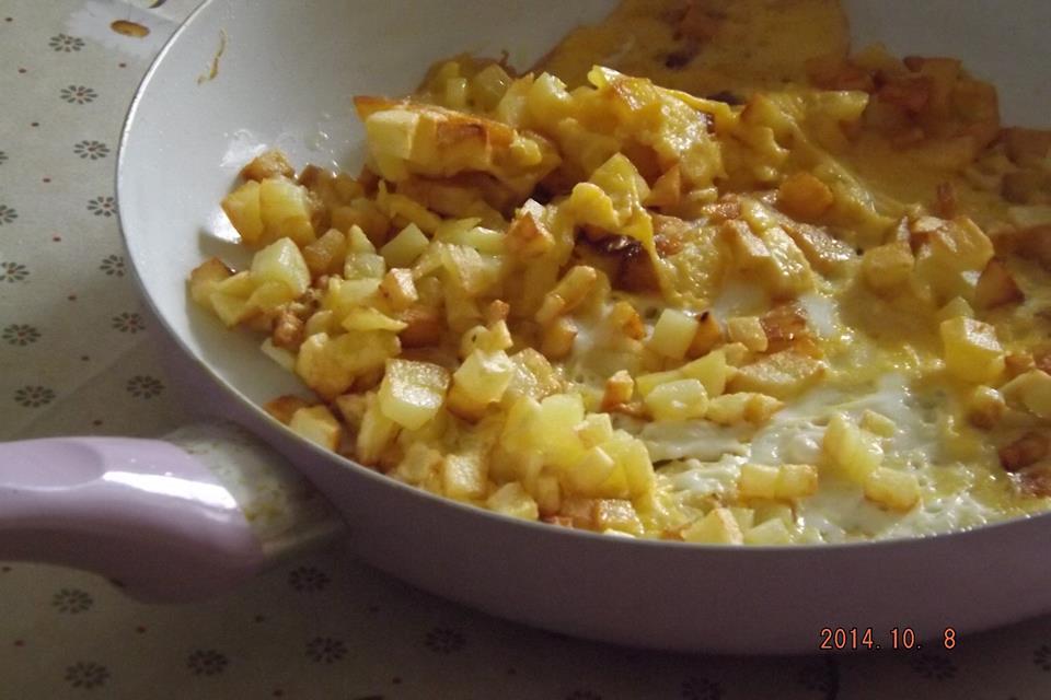 Patatesli Yumurta Tarifi2
