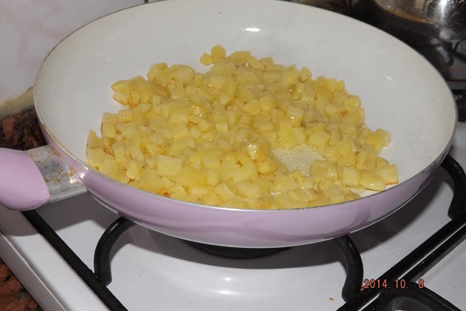 Patatesli Omlet Tarifi 2