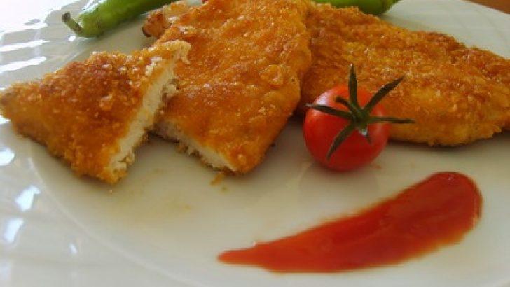 Acılı Tavuk Pane Tarifi