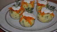 Patates Çanağında Havuç Salatası Tarifi