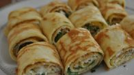Peynirli Krep Ruloları Tarifi