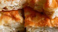 Kaşarlı su böreği  (Hazır yufkadan) Tarifi