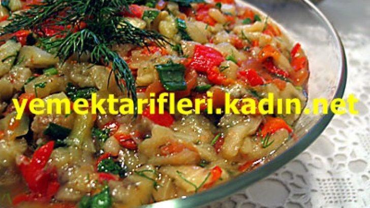 Kıymalı Patlıcan Salatası Tarifi