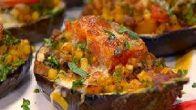Patlıcanlı Kayıkta Makarna Tarifi