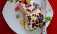 Bonibonlu Kremalı Pasta Tarifi