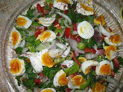 yumurta salatasi
